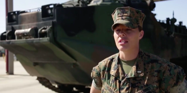 Camp Pendleton Marine Becomes First Female Officer To Lead An Assault Amphibian Vehicle Platoon