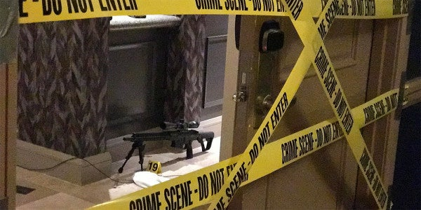 Photos Show Las Vegas Shooter's Arsenal Was Bigger Than An Infantry Squad's