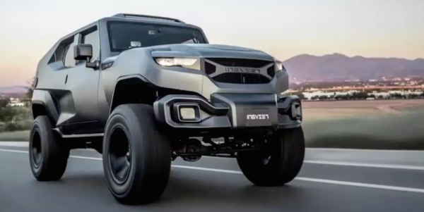 This Badass Military-Inspired Truck Is A Literal Tank