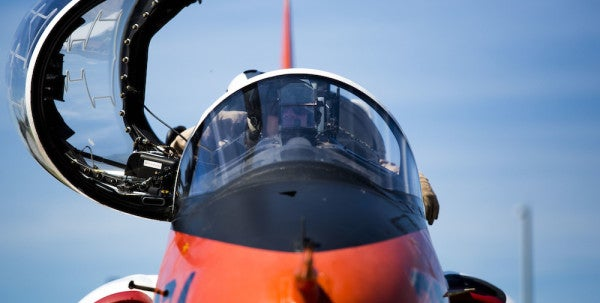 The Navy's Latest Downed T-45 Was Recently Outfitted With New Oxygen Monitor