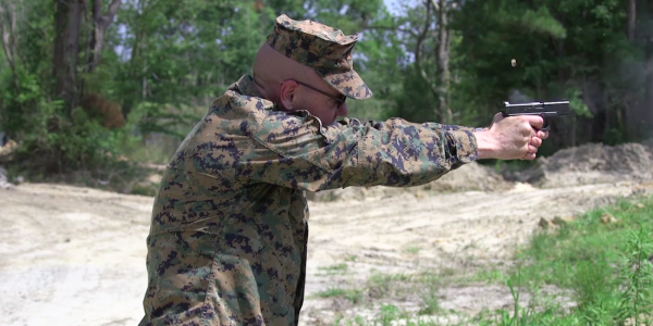 The Marine Corps Is On The Hunt For A More Compact Pistol
