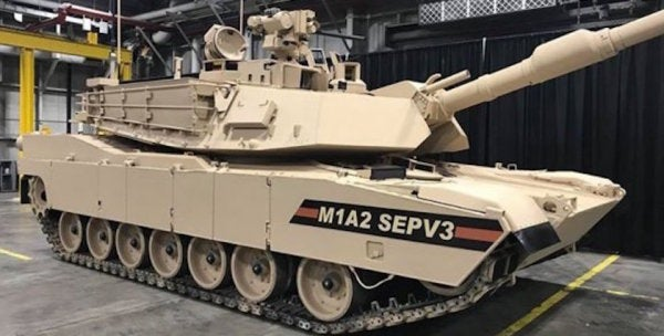 The Army's Latest Big Upgrade To The Abrams Tank Started Rolling Off The Assembly Line