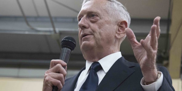 Mattis Personally Intervened To Fill The DoD Budget With Munitions. Now He's Getting Even More