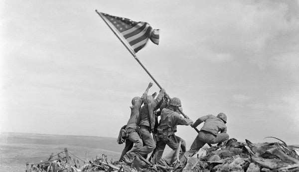 Marine Vets Want To Name A Navy Ship After The Iwo Jima Photographer
