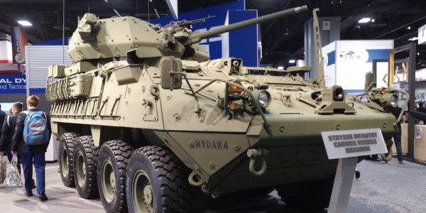 The Army's Badass New Stryker Fighting Vehicles Are Ready For Their Close Up