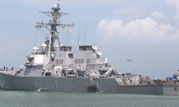 Navy Fires USS McCain Senior Leaders After 'Preventable' Deadly Collision