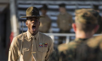 Here's How Marine Corps Drill Instructors Prevent 'Frog Voice'