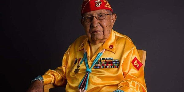 World War II Navajo Code Talker David E Patterson Sr Dies At 94