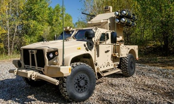 Oshkosh Unveils Joint Light Tactical Vehicle With Lethal New Missile Upgrade