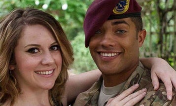 Fallen Soldier's Downrange Comrades Reveal His Baby's Gender In Touching Video
