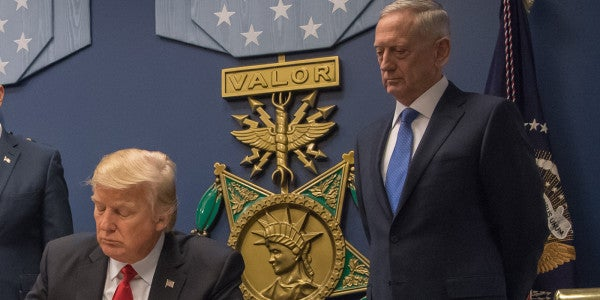 Mattis: It's 'Absolutely False' Trump Demanded More Nukes