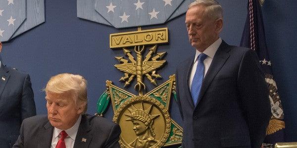 Mattis: It's 'Absolutely False' Trump Demanded More Nukes