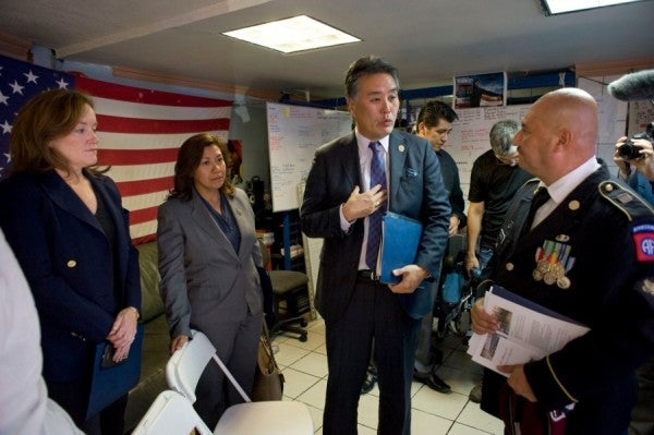Lawmakers Travel To Mexico To Meet Deported Vets Who Don't Have Access To VA Care