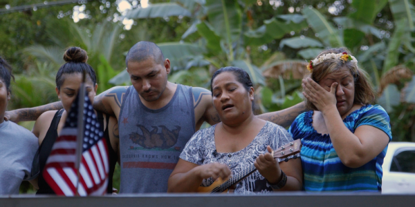 On An Island Halfway Around The World, Locals Enlist To Fight And Die For The United States