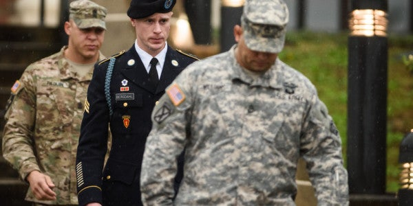 A Guilty Plea By Bergdahl On Monday Could Set Up A Unique Military Pre-Sentencing Trial