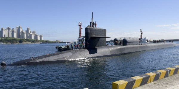 Is The Nuclear Sub The US Sent To South Korea Packing Navy SEALs?