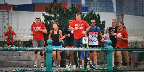 Marine Vet Who Lost Both Legs In Afghanistan Is Running 31 Marathons In 31 Days