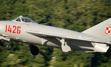 You Can Now Own Your Very Own Almost-New Soviet MiG Fighter Jet
