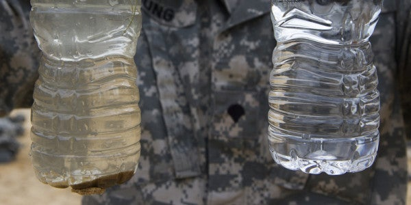 Report: Military Base Water Supplies Still Contain Rocket Fuel, Firefighting Foam