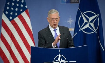 Mattis Eyes Faster Military Movement Across Europe With Reformed NATO Command Structure