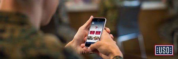 USO Serves Up A Free Mobile Application To Benefit Active Duty