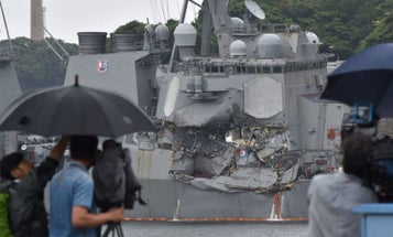 The Navy Is Revamping Surface Warfare Training To Avoid More Deadly Collisions
