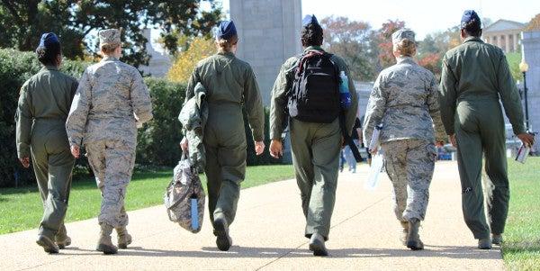 Changing VA's Motto Could Hurt The Actual Needs Of Women Veterans