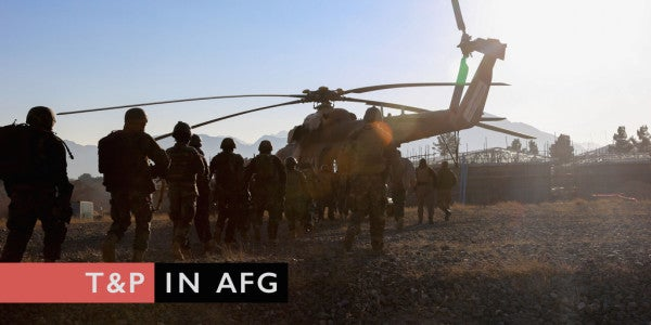 In Afghanistan, US Military Leaders Tell T&P Taliban Is 'Consistently Defeated'