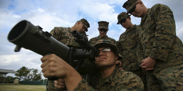 The Marine Corps Is Now Eyeing The Army's Souped-Up New Carl Gustaf Bazooka