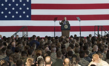 Listen to Trump, Esper, and Milley speak straight to troops and their families about COVID-19