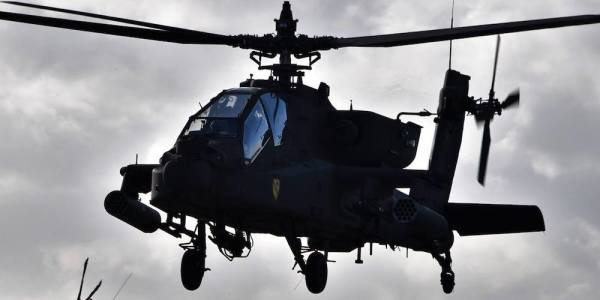 The Army's Upgraded Apache Helicopters Just Arrived In Europe To Stare Down Russia