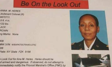 Fort Bragg Warns Of 'Armed And Dangerous' Former Lt Col With 'Homicidal Intentions'