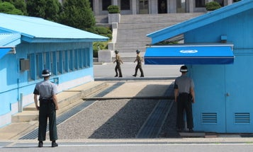 North Korean Soldier Who Defected Used A Vehicle To Escape Under Hail Of Gunfire