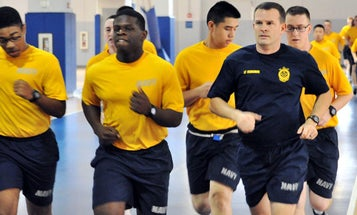 Navy To (Finally) Require Enlistees To Pass A Run Before Boot Camp