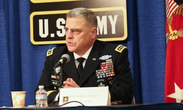 Army Chief Of Staff: A 'Significant Amount' Of Crime Data Has Not Been Relayed To FBI