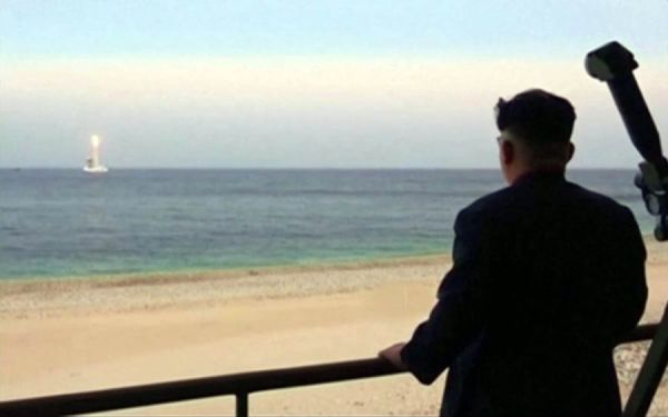 North Korea On Track To Deploy First Ballistic Missile Submarine, US Think Tank Says