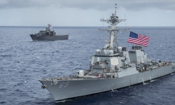 Finally, A 7th Fleet Destroyer Mishap That Wasn't The Navy's Fault