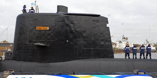 US Navy Deploys Unmanned Underwater Vehicles To Search For Missing Argentine Submarine