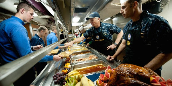 How The Navy Prepares A Thanksgiving Meal For 500 In 5 Easy (To Read) Steps