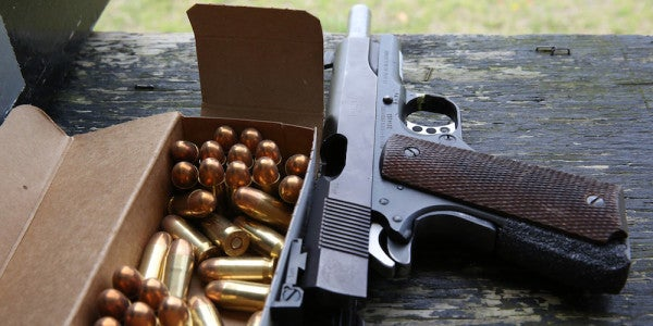 Here's How You Can Snag One Of The Army's Surplus M1911 Pistols