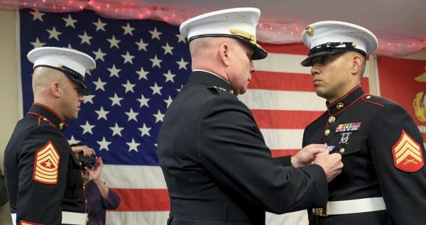 13 Years Later, A Fallujah Marine Finally Gets The Silver Star He Deserves