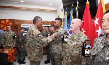 US And South Korean Soldiers Receive Medals For Helping To Rescue North Korean Defector