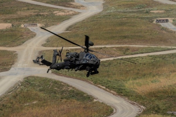 Army Report Blames 'Human Factors' For Deadly Apache Crash In 2015