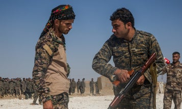 Now That ISIS Is Routed, What Happens To All The Weapons The US Gave Syrian Fighters?