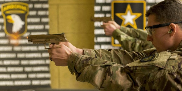 Here's What Soldiers Think Of The Army's Brand New Handgun