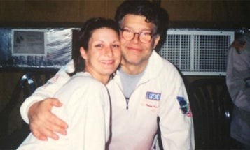 Al Franken Is Now Accused Of Groping A Soldier On Another USO Tour