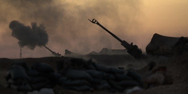 Artillery Marines Headed Home After 'Raining' Fire On ISIS In Syria