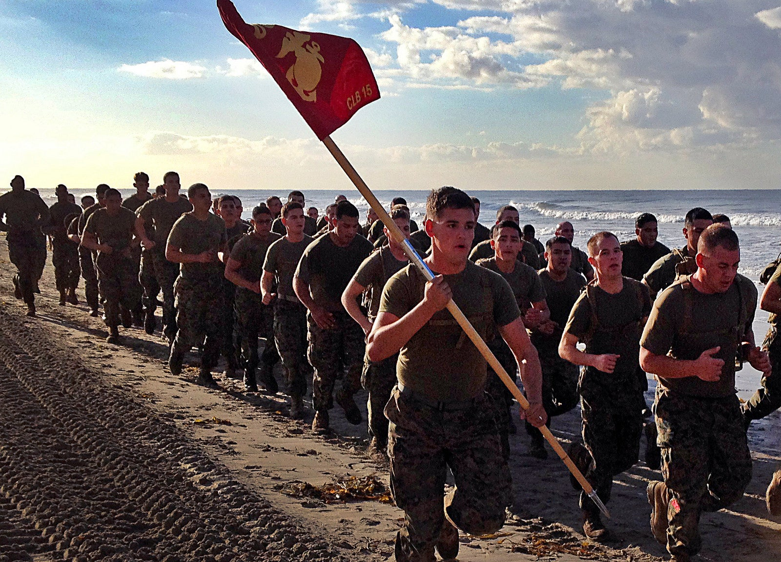 Marine Corps cancels physical fitness test requirement over COVID-19