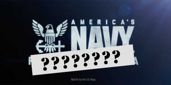 Here's The New Navy Slogan That Took 18 Months And Millions Of Dollars To Think Up