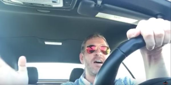 6 types of dudes being mad in their cars on video